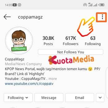 Cara Download Foto Profil Instagram 1