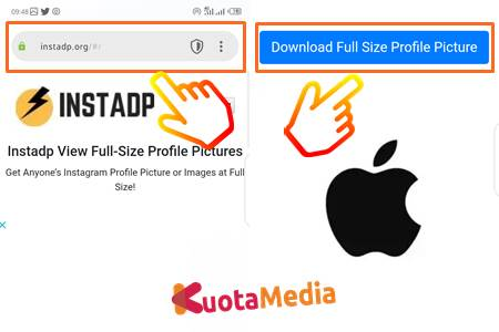 Cara Download Foto Profil Instagram 8