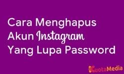 Cara Menghapus Akun Instagram Yang Lupa Password 3