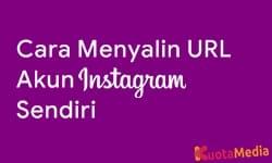 Cara Menyalin URL Akun Instagram Sendiri 9
